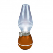 Настольная лампа (UL-00001503) Uniel TLD-538 Brown/LED/80Lm/5500K/Dimmer